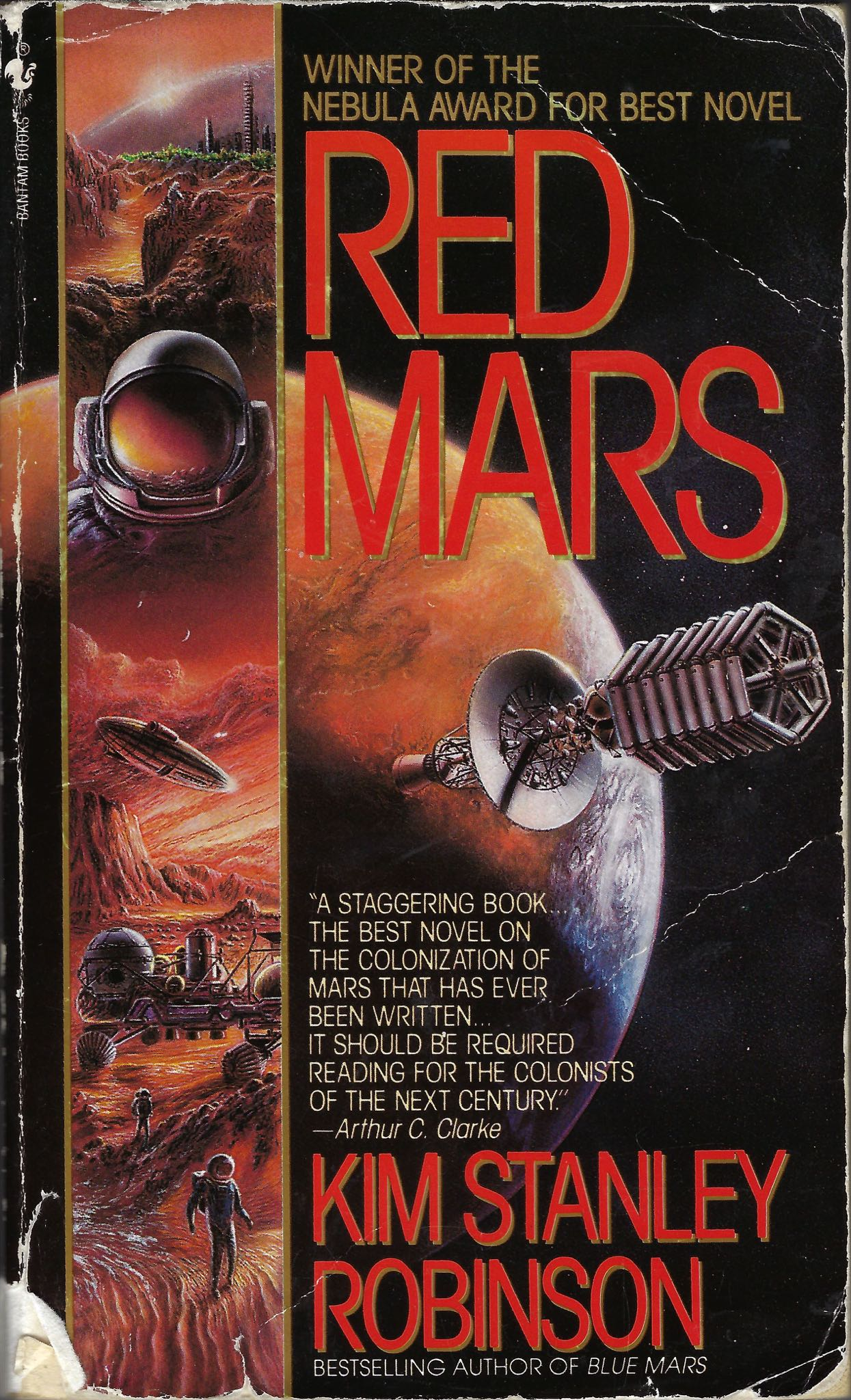Red Mars, by Kim Stanley Robinson